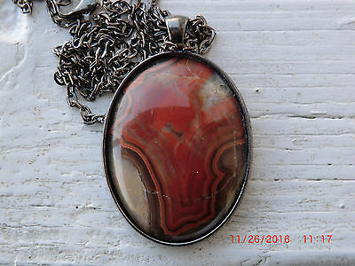 Dryhead Agate Necklace