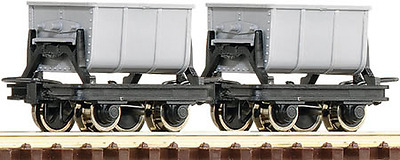 Roco 34601 Side Tipping Cement Hopper Wagons (Pk2) HOe