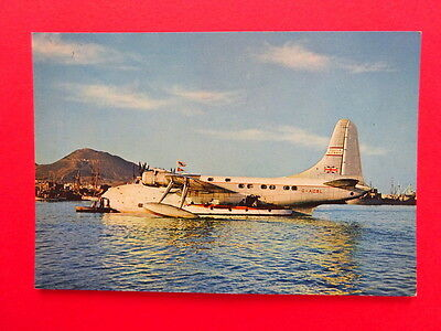Aquila Airways Solent Flying Boat G-AOBL- 1950s - unposted