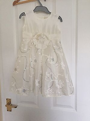 Girls Occasion Wedding Party Dress Age 2-3