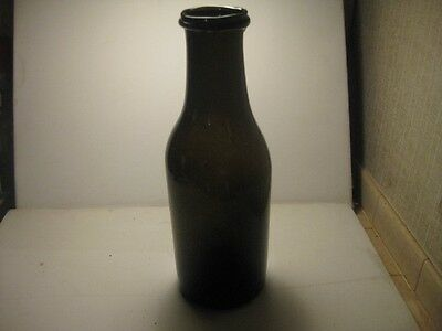 antique wide mouth utility bottle