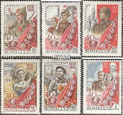 Soviet-Union 2160A-2165A (complete issue) unmounted mint / never hinged 1958 you