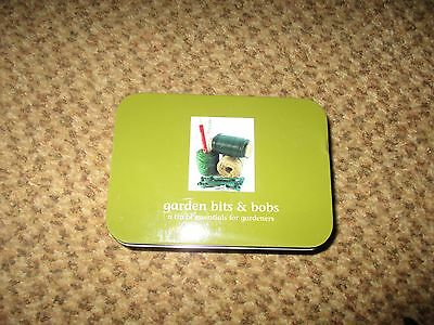Garden Bits and Bobs in a tin by Apples to Pears