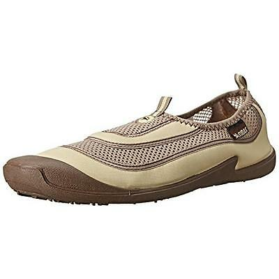 Cudas 6029 Mens Flatwater Beige Mesh Water Shoes 11 Medium (D) BHFO