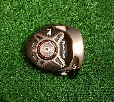 Taylormade R1 black driver head only / 8-12 degree / vgc / serial number