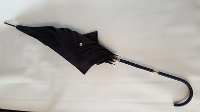 Vintage Gold Banded Paragon Umbrella