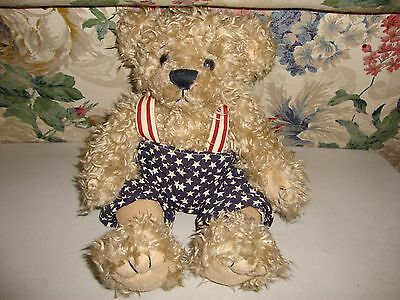"""First And Main Lil Libearty Teddy Bear Plush 12"""""""