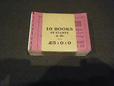 Stamp Booklets  In Band Of 10 ,6 @ 1D, 6 @3D, 24 @ 4D  May 1968