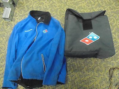 Domino's Pizza Delivery Bag and Jacket AS IS dominos cosplay