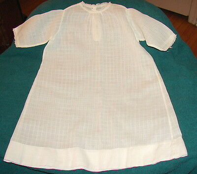 VINTAGE Victorian Baby Girl's Dress Approximate size 6 mo