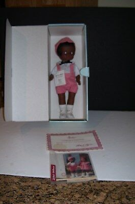 "1987 ""PATSY COLLECTION"" Black Patsy Doll(Exclusive Edition) In Original Box w/Ce"