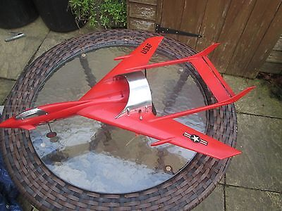 WEN MAC Fan Jet XL600 - Control Line Model Aircraft , Made in the USA , 1960s