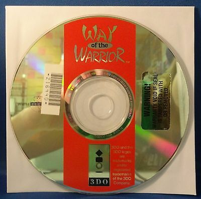 Way of the Warrior (3DO, 1995) Free Shipping!