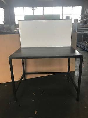 Steel work bench for welding. Contact Us On 3376 3824