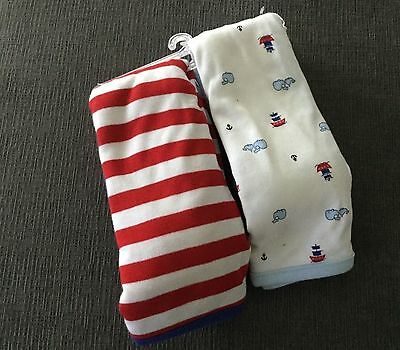 NWT Baby boy blankets caters one size