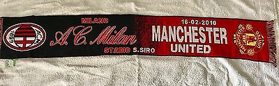 Ac Milan Vs Manchester United Scarf