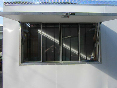 "Quality Concession Trailer Serving Window  size 40"" X 64"""