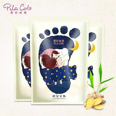 7 Pairs Pila Girl Good Night Detox Foot Patch Health Care For Sub-health Fatigue
