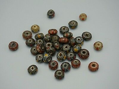 A group of vintage trade beads