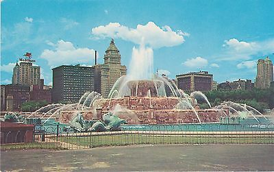 "Chicago ""The City Beautiful"" Cameo Greeting Cards. Vintage Postcard"