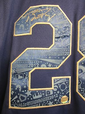 Buster Posey Signed / Autographed 2012 All-Star Game Jersey LOJO COA Auto Giants