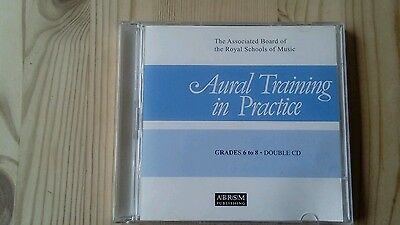 ABRSM Aural Training In Practice GRADES 6 to 8 Double CD