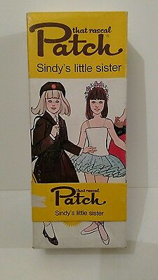 Patch - Sindy's Little Sister DOLL in ORIGINAL BOX