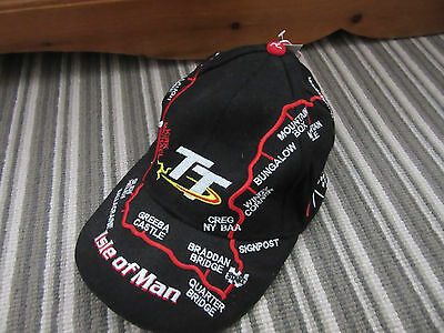 Isle Of Man TT Races - Baseball Cap - new with tag - official merchandise