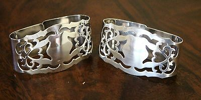 Plated Napkin Rings