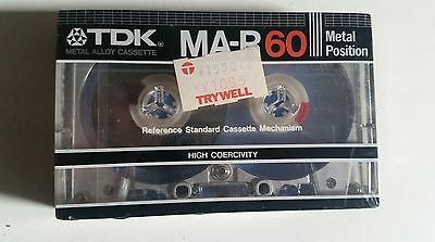 TDK MA-R 60 Metal Alloy Cassette Mc Neu 1982 Japan