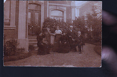 Fourmies Famille Bourgeoise Cp Allemande  Cp Photo