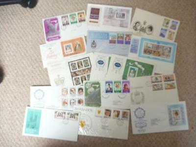 Massive Accumulation of GB Royalty First Day Covers