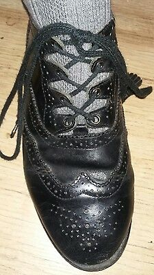 Boys kilt shoes