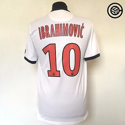 IBRAHIMOVIC PSG Paris Saint-Germain Nike Away Football Shirt JERSEY 2013/14 (S)