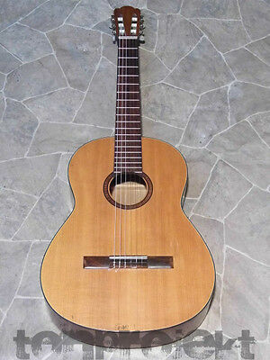 nice vintage CLASSICAL QUALITY GUITAR 4/4 Gitarre solid top Germany ~1970s