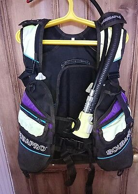 scubapro bcd jacket for scuba diving diver divers, full working order medium m