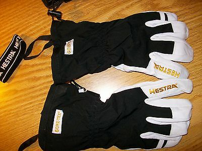 Hestra Army GTX leather ski and snowboard glove. GoreTex. New Old Stock