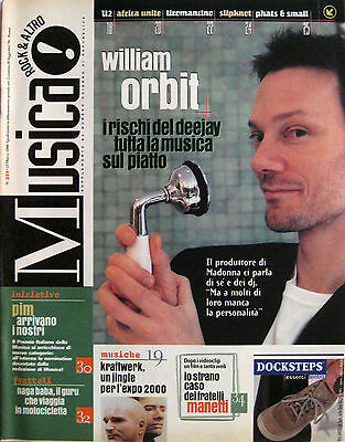 MUSICA 231 2000 William Orbit Wendy Carlos Bono Africa Unite Kraftwerk Slipknot