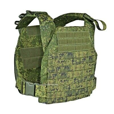 Russian Original TECHINKOM Plate Carrier ZTS Granit 2-2 Molle EMR Digital Flora