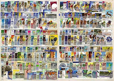 AUSTRALIA:  300 different used incl. International rates & higher values.
