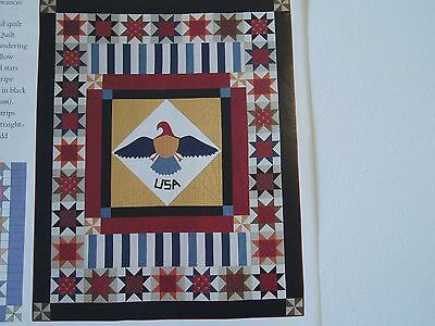 Valiant Eagle Quilt Pattern from Magazine