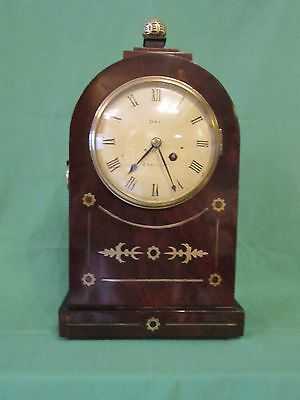 Small Regency period library timepiece