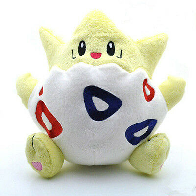 Cute Pokemon Go Togepi Kids  Toy Soft Plush Stuffed Doll Toy Birthday Gift  8""