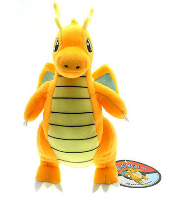 "Pokemon Dragonite 9"" Stuffed Animal Nintendo Cartoon Plush Toy cute Dragon Doll"