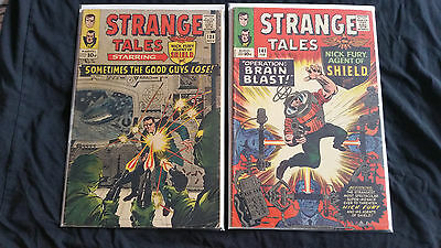 Strange Tales #138 and #141