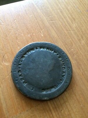 Cartwheel Penny Counter Stamped
