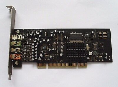 CREATIVE LABS SOUND BLASTER  X-Fi  SB0730 PCI AUDIO CARD