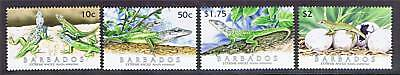 Barbados 2005 Extreme Anole SG1286/9 MNH