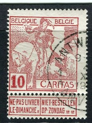 BELGIUM;  1910 Brussels Exhibition issue fine used 10c. value, type A