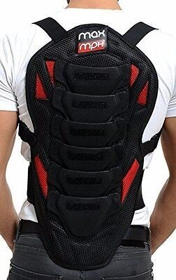 MAX MPH Motorcycle & skiing/snowboarding back spine protector